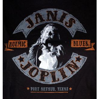 t-shirt metal donna Janis Joplin - KOZMIC BLUES - LIQUID BLUE, LIQUID BLUE, Janis Joplin