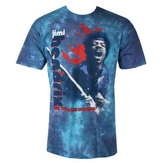 t-shirt metal uomo Jimi Hendrix - FIRE - LIQUID BLUE, LIQUID BLUE, Jimi Hendrix