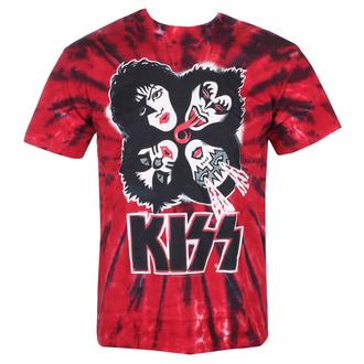 t-shirt metal uomo Kiss - BURST - LIQUID BLUE, LIQUID BLUE, Kiss