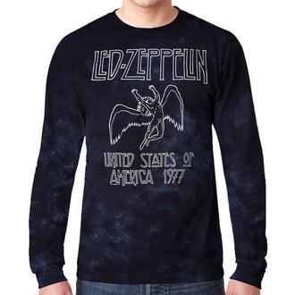 t-shirt metal uomo Led Zeppelin - USA TOUR '77 - LIQUID BLUE, LIQUID BLUE, Led Zeppelin
