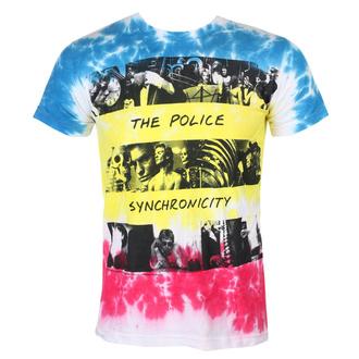 t-shirt metal uomo Police - SYNCHRONICITY - LIQUID BLUE, LIQUID BLUE, Police