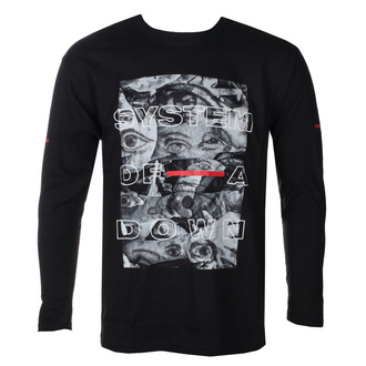 t-shirt metal uomo System of a Down - Eye Collage - ROCK OFF, ROCK OFF, System of a Down