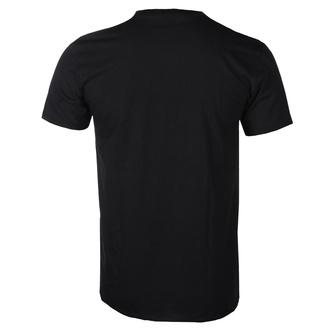t-shirt metal uomo Led Zeppelin - Black Flames - NNM, NNM, Led Zeppelin