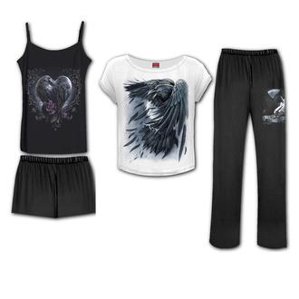 Pigiama d donna (set) SPIRAL - RAVEN HEART - Set pigiama gotico, SPIRAL