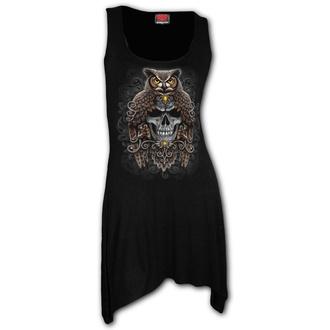 Vestito da donna SPIRAL - DEATH WISDOM - Nero, SPIRAL