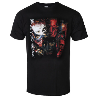 t-shirt metal uomo System of a Down - PAINTED FACES - PLASTIC HEAD, PLASTIC HEAD, System of a Down