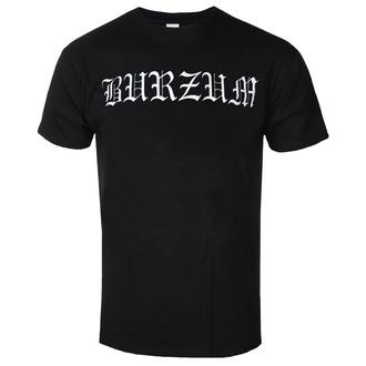 t-shirt metal uomo Burzum - WHITE LOGO - PLASTIC HEAD, PLASTIC HEAD, Burzum
