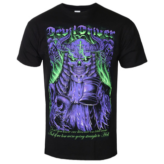 t-shirt metal uomo Devildriver - JUDGE NEON - PLASTIC HEAD, PLASTIC HEAD, Devildriver