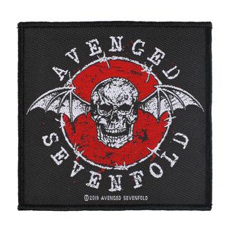Toppa Avenged Sevenfold - Distressed Skull - RAZAMATAZ, RAZAMATAZ, Avenged Sevenfold