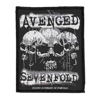 Toppa Avenged Sevenfold - 3 Skulls - RAZAMATAZ, RAZAMATAZ, Avenged Sevenfold