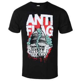 t-shirt metal uomo Anti-Flag - Washington DC Black - KINGS ROAD, KINGS ROAD, Anti-Flag