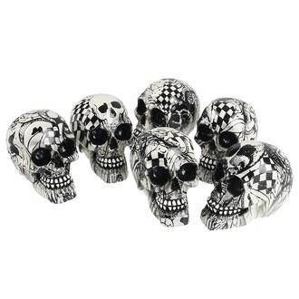 Decorazioni (set 6 pezzi) Cranio - Abstraction, NNM