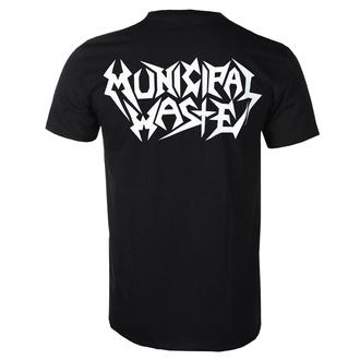 Maglietta metal da uomo Municipal Waste - Logo - ART WORX, ART WORX, Municipal Waste