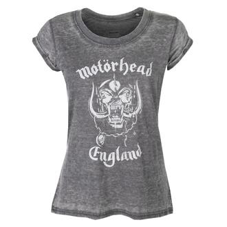 Maglietta da donna con stampa Motörhead - England - ROCK OFF, ROCK OFF, Motörhead