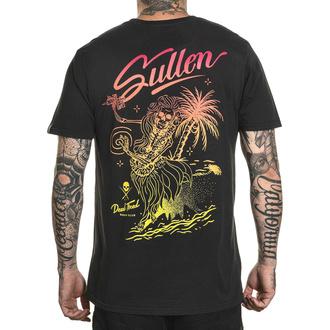 Maglietta da uomo SULLEN - DEAD TIRED - NERO VINTAGE, SULLEN