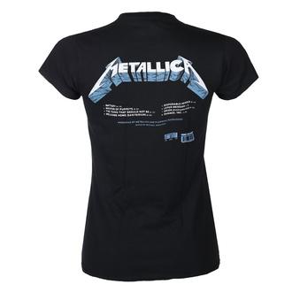 Maglietta da donna METALLICA - MASTER OF PUPPETS - BRANI - NERO - PLASTIC HEAD, PLASTIC HEAD, Metallica