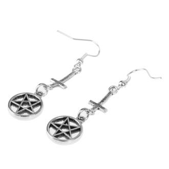 Orecchini Croce / Pentagramma, FALON