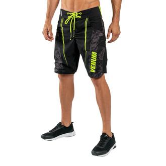 Pantaloncini da uomo Venum - Aero 2,0 - Nero / Giallo neon, VENUM