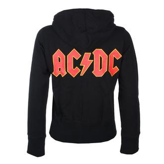 Felpa da donna con cappuccio AC / DC - Logo- ROCK OFF, ROCK OFF, AC-DC