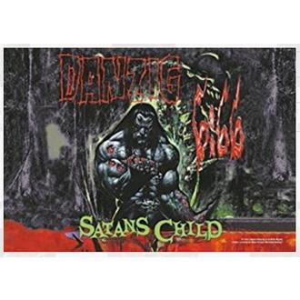 Bandiera Danzig - Satan Child, HEART ROCK, Danzig