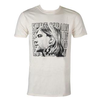 Maglietta da uomo Kurt Cobain - Contrast Profile - ROCK OFF, ROCK OFF, Nirvana