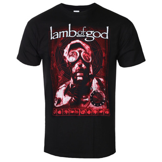 Maglietta da uomo Lamb Of God - Gas Mask Waves - ROCK OFF, ROCK OFF, Lamb of God