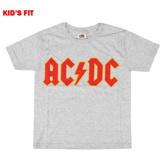 Maglietta da bambini AC/DC - Logo - ROCK OFF, ROCK OFF, AC-DC
