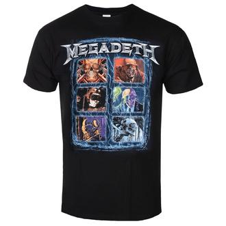 Maglietta da uomo Megadeth - Head Grip - ROCK OFF, ROCK OFF, Megadeth