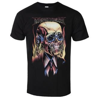 Maglietta da uomo Megadeth - Flaming - ROCK OFF, ROCK OFF, Megadeth