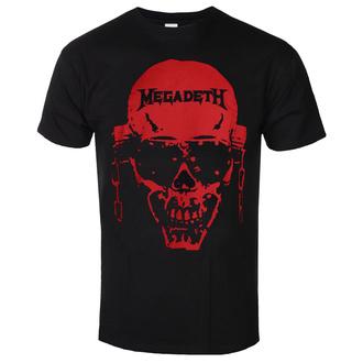 Maglietta da uomo Megadeth - Contrast Red - ROCK OFF, ROCK OFF, Megadeth