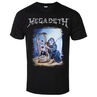 Maglietta da uomo Megadeth - Countdown Hourglass - ROCK OFF, ROCK OFF, Megadeth