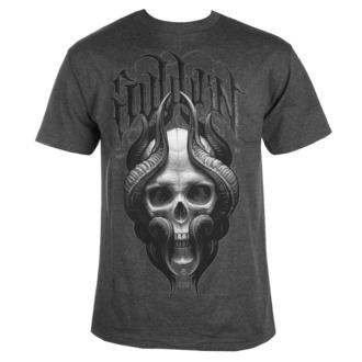Maglietta da uomo SULLEN - STEPAN NEGUR SKULL- CHARCOAL HEATHER, SULLEN