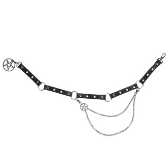 Cintura Pentagramma, Leather & Steel Fashion