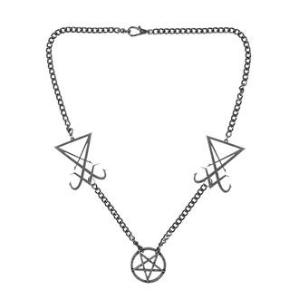 Collana Lucifero, Leather & Steel Fashion