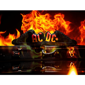 Scarpe DC -  AC/DC - HIGHWAY TO HELL - GRADIENTE NERO , DC, AC-DC