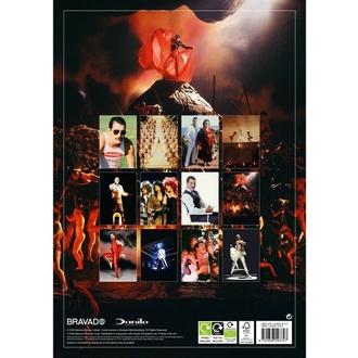 Calendario 2021 - FREDDIE MERCURY, NNM, Queen