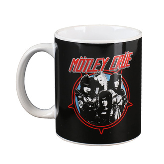 Tazza Mötley Crüe - Heavy Metal Power, NNM, Mötley Crüe