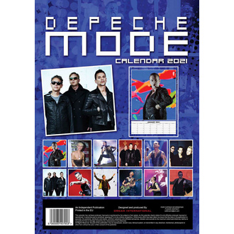 Calendario per l'anno 2021 - DEPECHE MODE, NNM, Depeche Mode