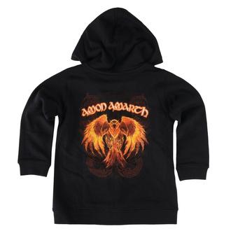 Felpa da bambini con cappuccio Amon Amarth - Burning Eagle - Metal-Kids, Metal-Kids