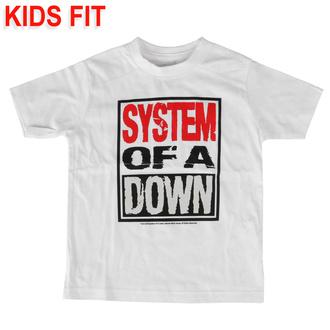 Maglietta da bambini System of a Down - Logo - Metal-Kids, Metal-Kids, System of a Down