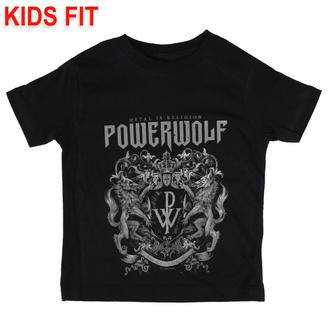 Maglietta da bambini Powerwolf - Crest - Metal-Kids, Metal-Kids, Powerwolf