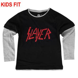 Maglietta da bambini a maniche lunghe Slayer - Logo - Metal-Kids, Metal-Kids, Slayer