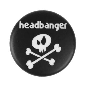 Spilla Headbanger - Metal-Kids, Metal-Kids