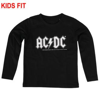 Maglietta da bambini a maniche lunghe AC/DC  - Logo - Metal-Kids, Metal-Kids, AC-DC