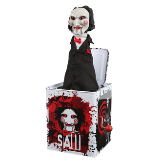 Action Figure Saw - Burst-A-Box - Billy, NNM, Saw