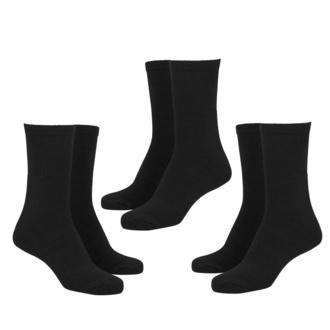 calzini (set di 3 coppie) URBAN CLASSICS - Sport 3-Pack - nero, URBAN CLASSICS