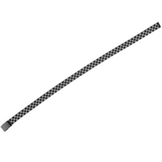URBAN CLASSICS cintura - Adjustable Checker - nero / grigio, URBAN CLASSICS