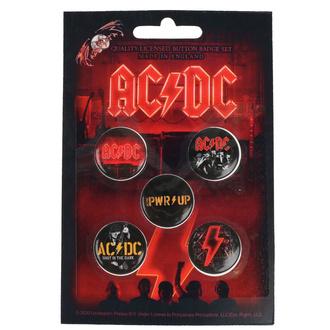 Distintivi  AC  /  DC  - POWER UP - RAZAMATAZ, RAZAMATAZ, AC-DC