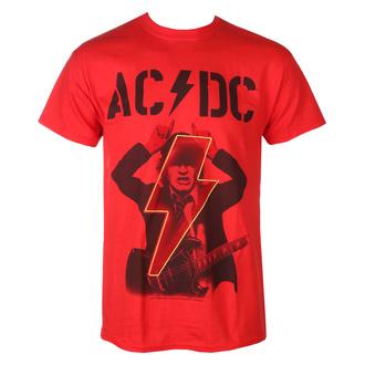 maglietta  AC  /  DC  - Angus - ENERGIA SU - Rosso - RAZAMATAZ, RAZAMATAZ, AC-DC