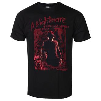 Maglietta da uomo Nightmare on Elm Street - Freddy Silhouette - Nero, BIL, Nightmare - Dal profondo della notte